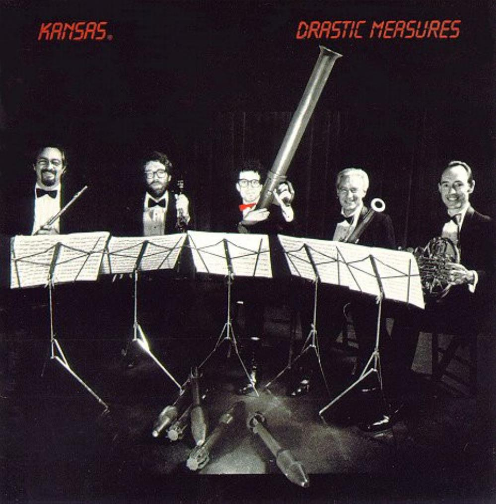 Drastic Measures by KANSAS album cover