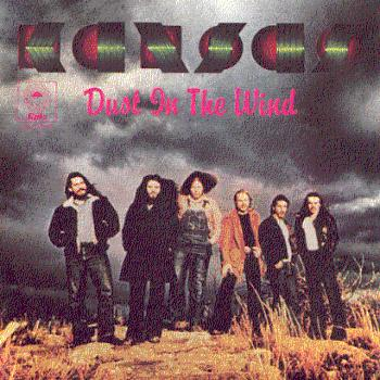 Kansas Dust In The Wind album cover