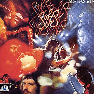 The Soft Machine - Softs CD (album) cover