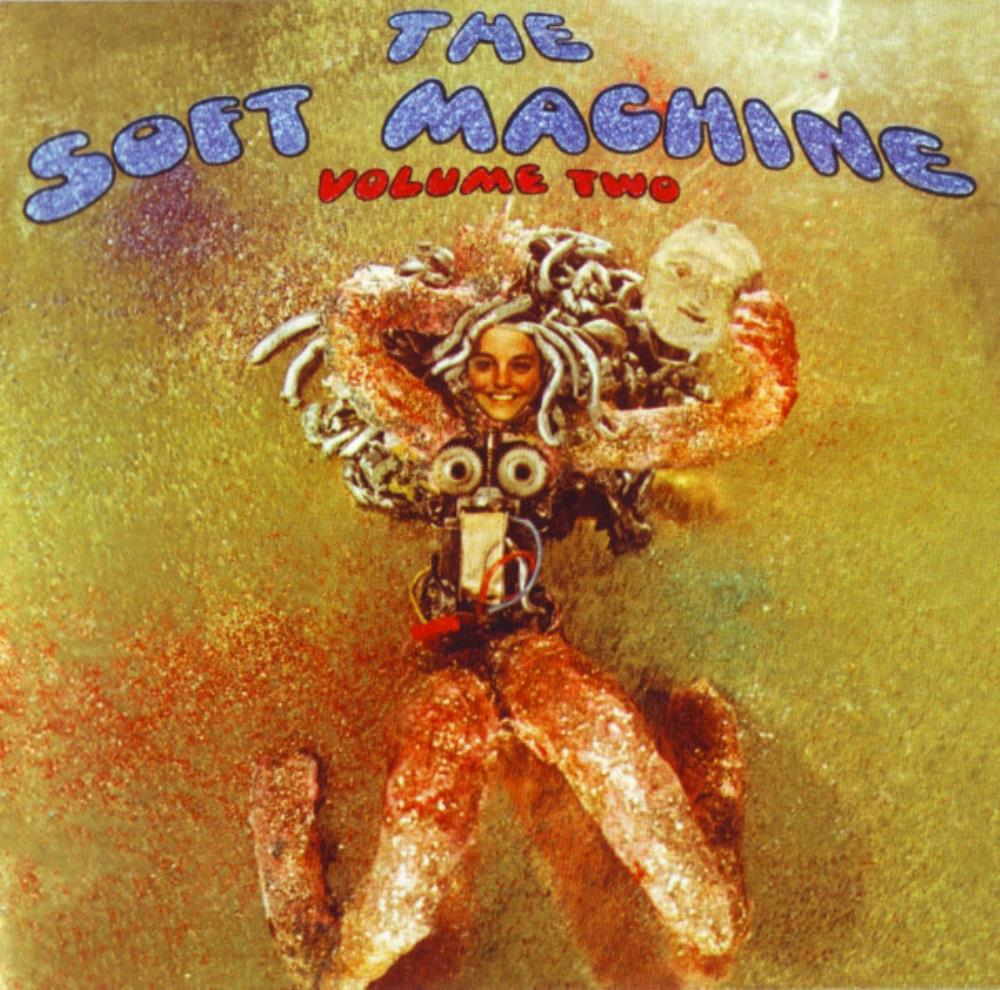 The Soft Machine - Volume Two CD (album) cover