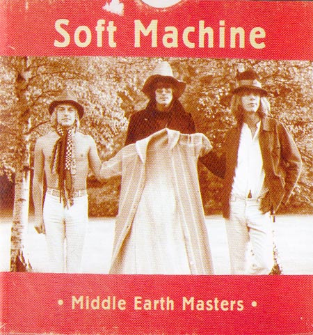 The Soft Machine - Middle Earth Masters CD (album) cover