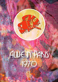 The Soft Machine - Alive in Paris-1970 CD (album) cover