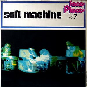 The Soft Machine - Face And Place Vol. 7 (also called Jet Propelled Photographs and At The Beginning) CD (album) cover