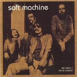 The Soft Machine BBC Radio 1 Live In Concert 1972 album cover