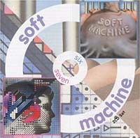 The Soft Machine - Six/Seven CD (album) cover