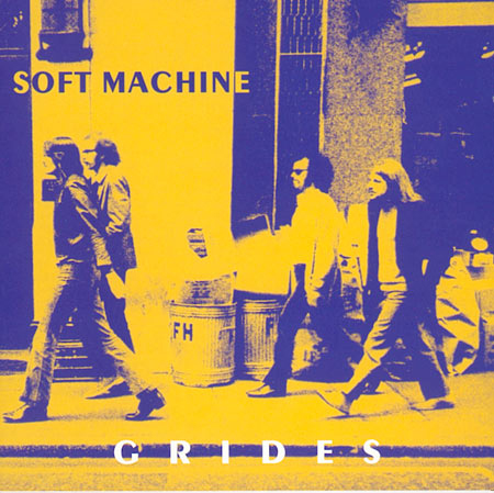 The Soft Machine - Grides CD (album) cover