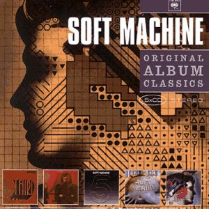The Soft Machine Original Album Classics album cover
