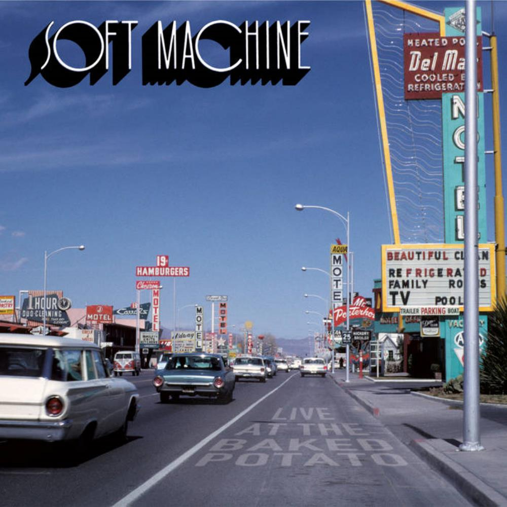 Live at The Baked Potato by SOFT MACHINE, THE album cover