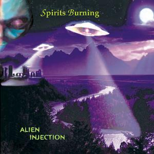 Spirits Burning Alien Injection album cover