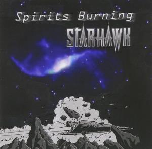 Spirits Burning Starhawk album cover