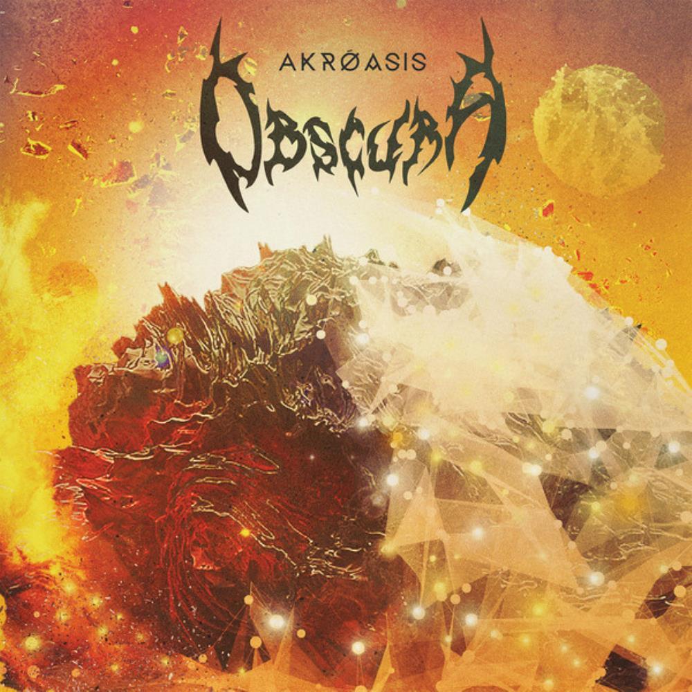 Akróasis by OBSCURA album cover