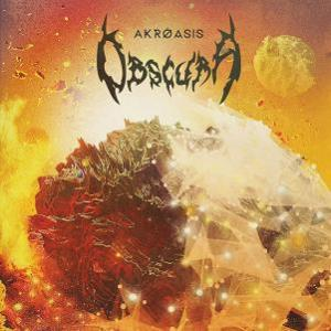 Akróasis by OBSCURA album cover