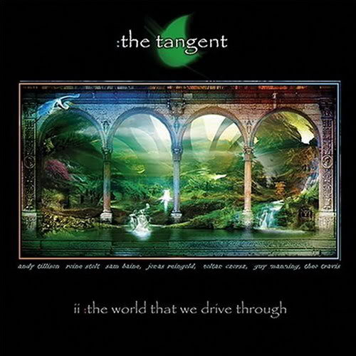 The Tangent - The World That We Drive Through CD (album) cover