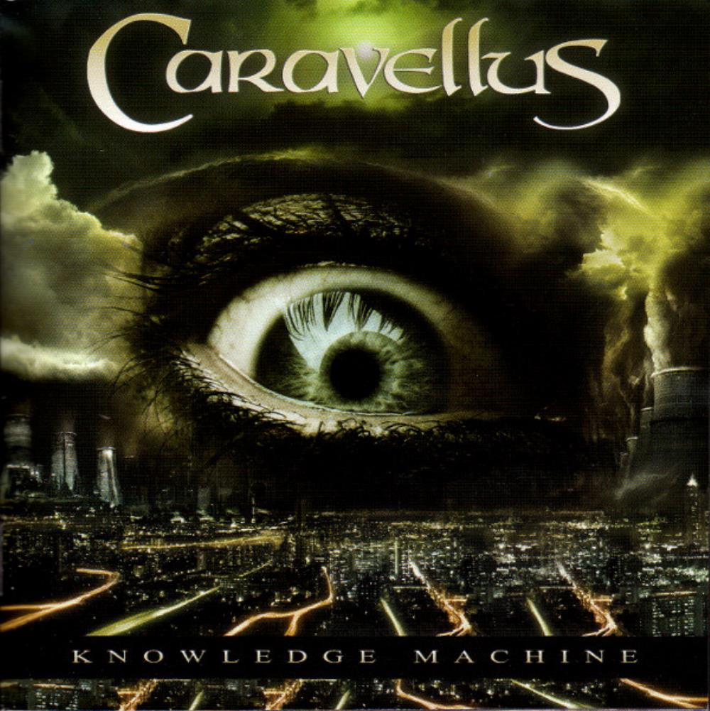 Caravellus - Knowledge Machine CD (album) cover
