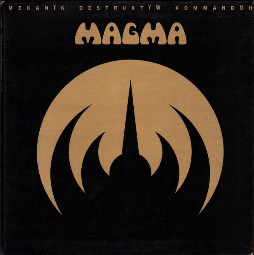 Magma - Mekan�k Destrukt�w Kommand�h CD (album) cover
