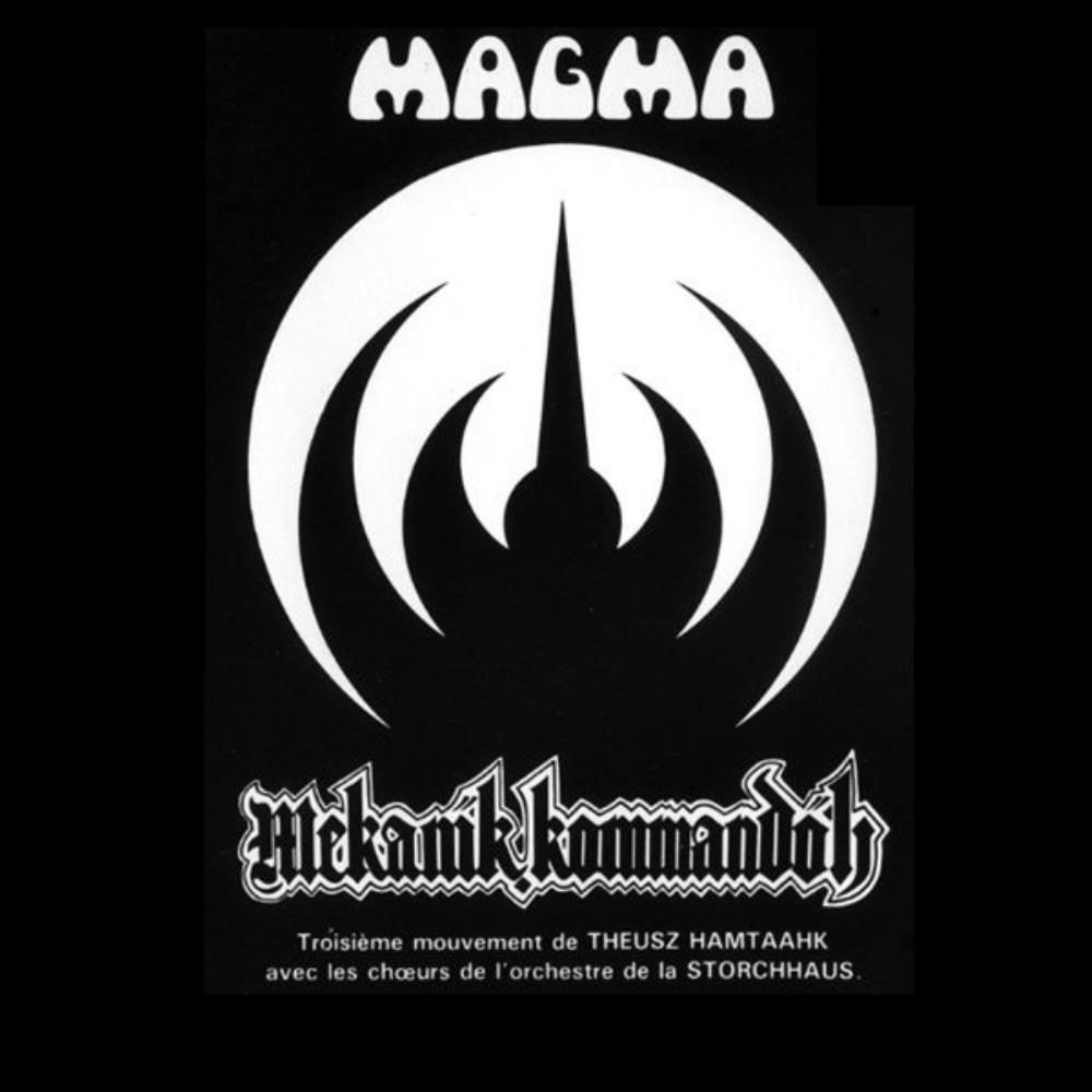 Mekanïk Kommandöh by MAGMA album cover