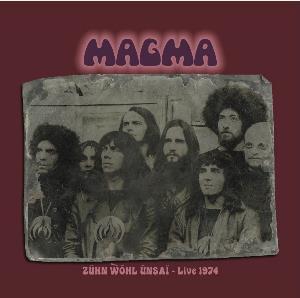 Zühn Wöhl Ünsaï - Live 1974 by MAGMA album cover