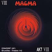Magma - Concert 1971, Bruxelles - Th��tre 140 CD (album) cover