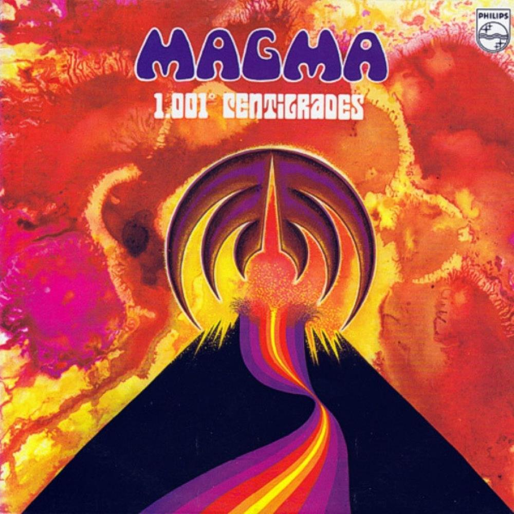 Magma - 1001° Centigrades [Aka: 2] CD (album) cover