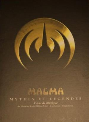 Magma Mythes Et Legendes (Box Set) album cover