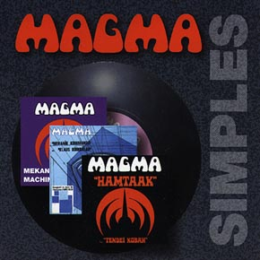 Magma - Simples CD (album) cover