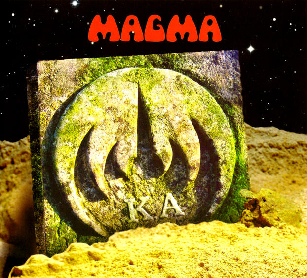 Magma - K.A CD (album) cover