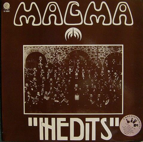 Magma - Inédits CD (album) cover