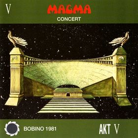 Magma - Concert Bobino 1981 CD (album) cover