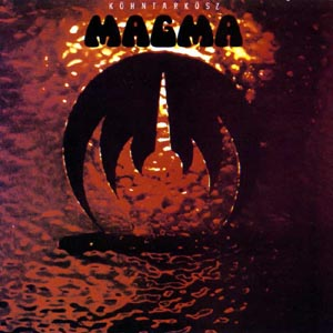 Magma - K�hntark�sz CD (album) cover