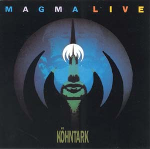 Magma - Live/Hha� (K�hntark) CD (album) cover