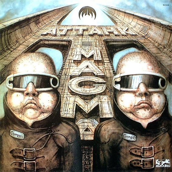 Magma Attahk album cover