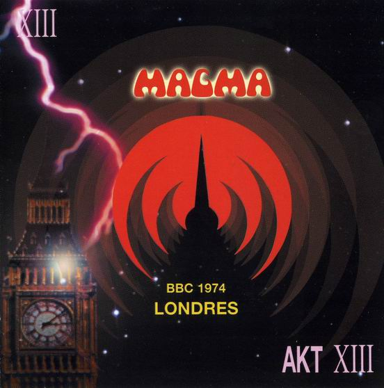 Magma BBC 1974 - Londres album cover