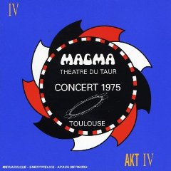 Magma - Concert 1975, Toulouse - Th��tre Du Taur CD (album) cover