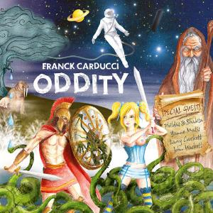 Franck Carducci - Oddity CD (album) cover