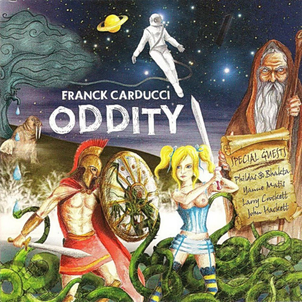 Oddity by CARDUCCI, FRANCK album cover
