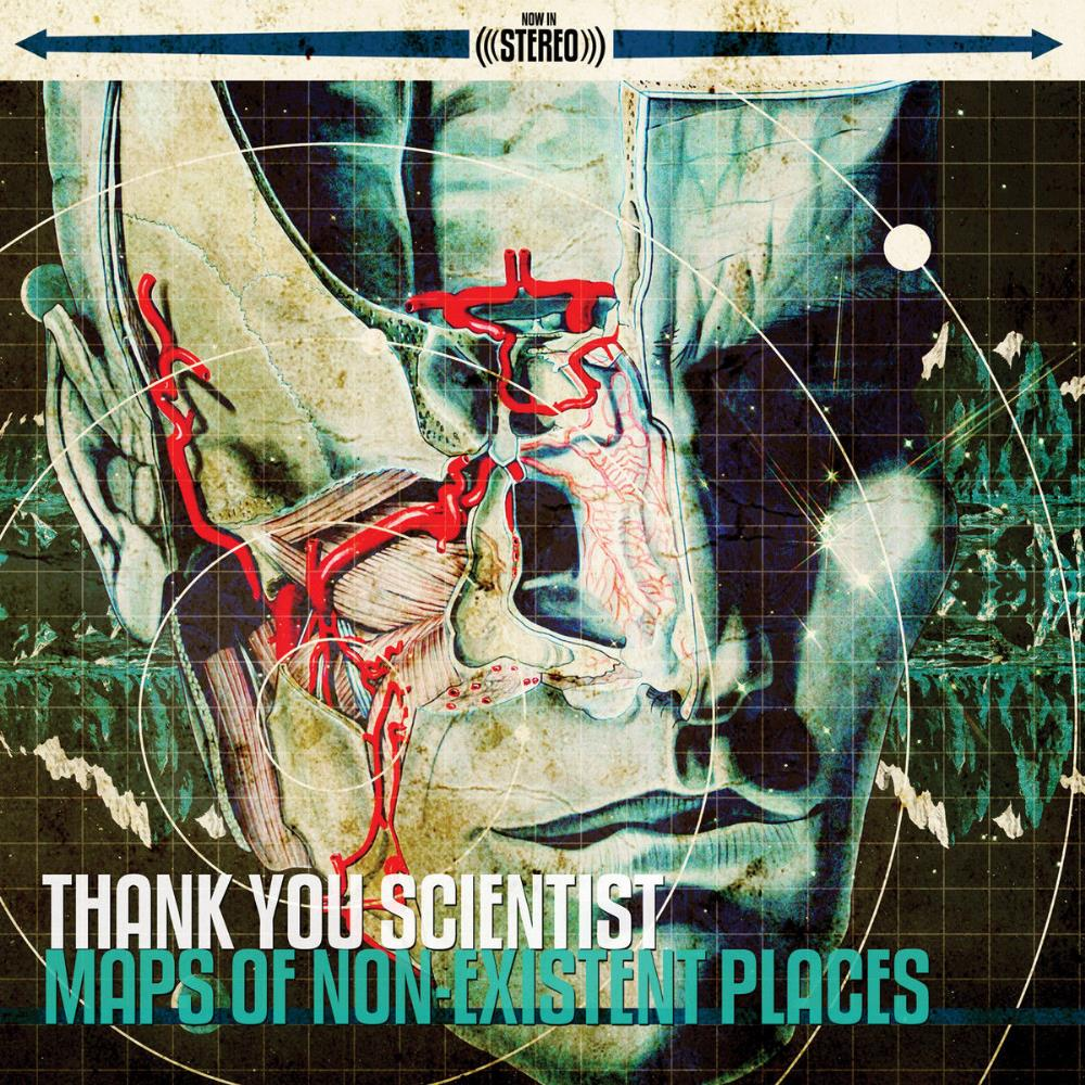 Thank You Scientist - Maps Of Non-Existent Places CD (album) cover