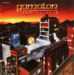 Gamalon - Aerial View CD (album) cover
