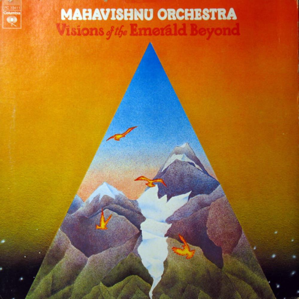 Visions Of The Emerald Beyond by MAHAVISHNU ORCHESTRA album cover