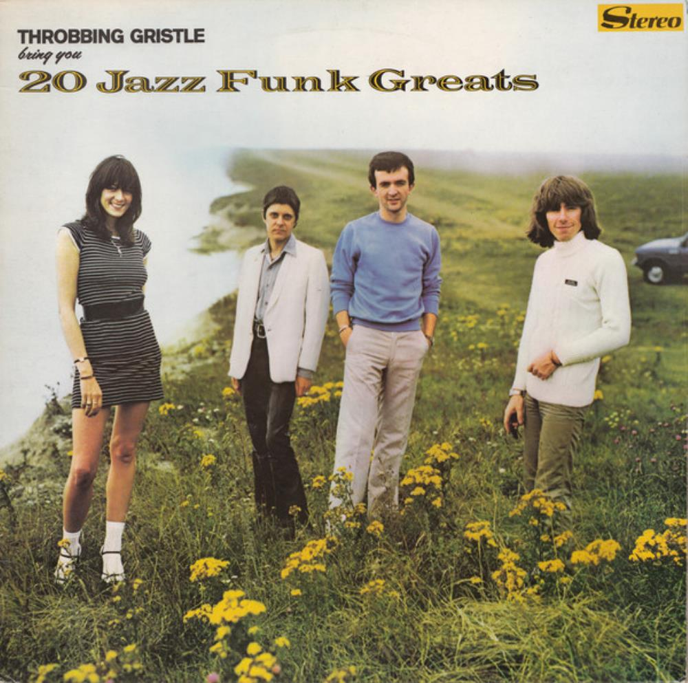 Throbbing Gristle - 20 Jazz Funk Greats CD (album) cover