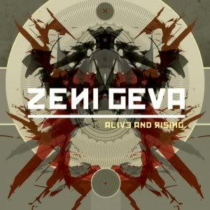 Zeni Geva Alive And Rising album cover
