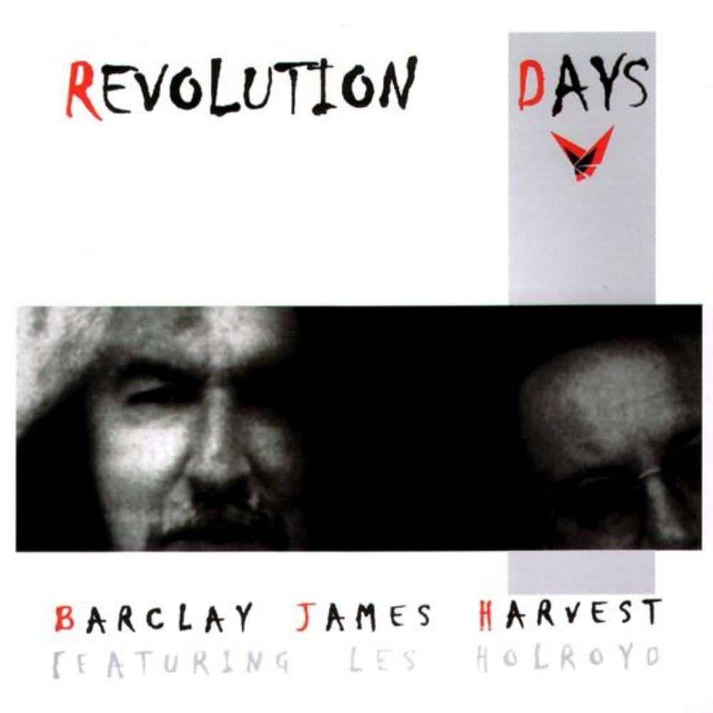 Barclay James  Harvest - BJH Featuring Les Holroyd: Revolution Days CD (album) cover