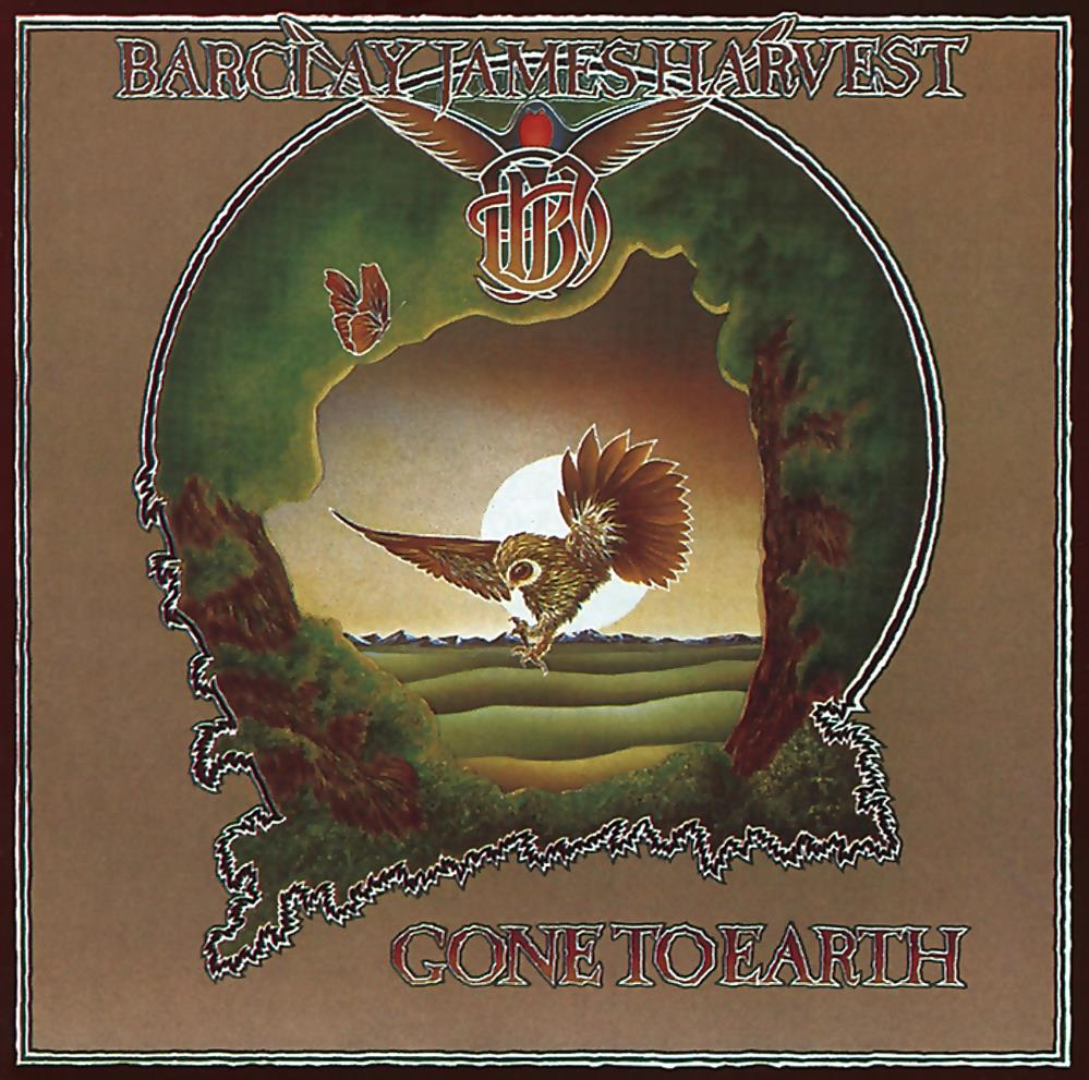 Gone To Earth by BARCLAY JAMES  HARVEST album cover