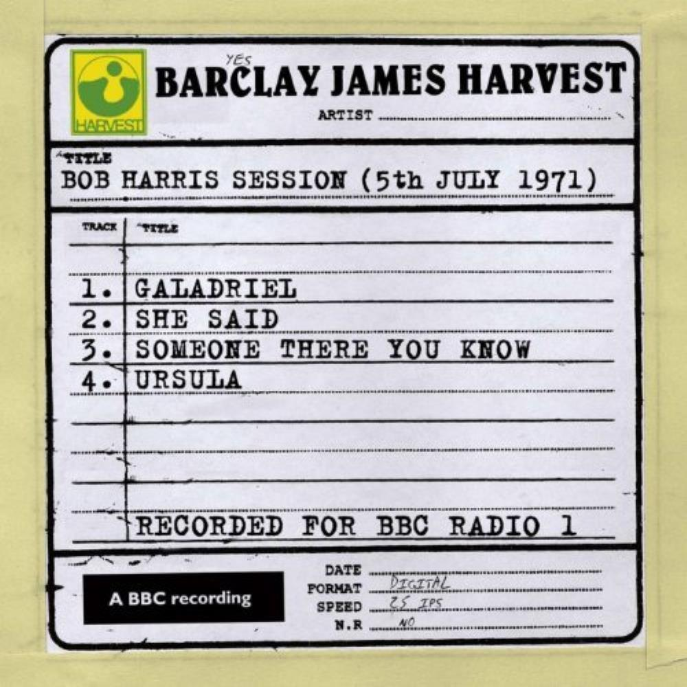 Barclay James  Harvest Bob Harris Session (5th july 1971) album cover