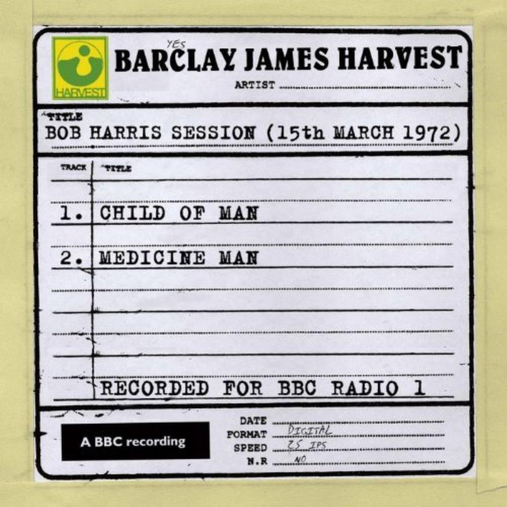 Barclay James  Harvest Bob Harris Session (15th march 1972) album cover