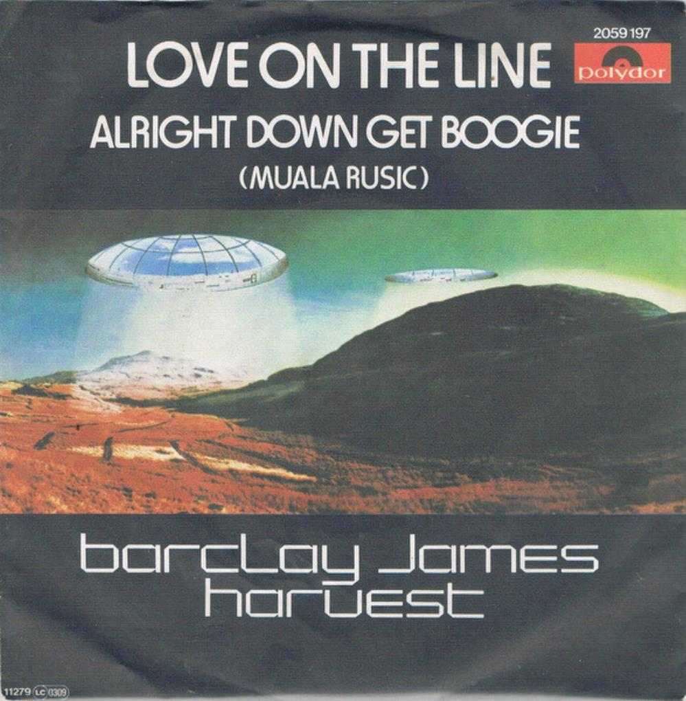 Barclay James  Harvest - Love on the Line CD (album) cover