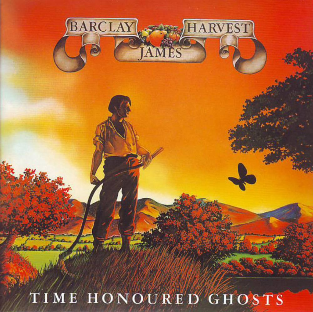 Barclay James  Harvest - Time Honoured Ghosts CD (album) cover