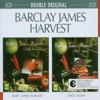 Barclay James  Harvest - Baby James Harvest / Once Again CD (album) cover
