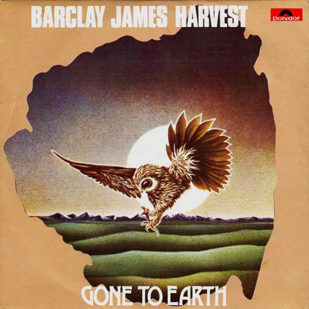 Barclay James  Harvest Gone to Earth EP album cover