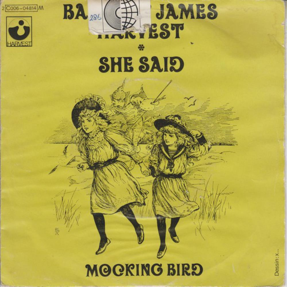 She Said by BARCLAY JAMES  HARVEST album cover