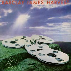 Barclay James  Harvest Live Tapes album cover